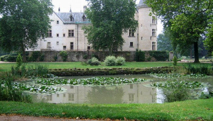 Le-chateau-de-Bourbilly-etang
